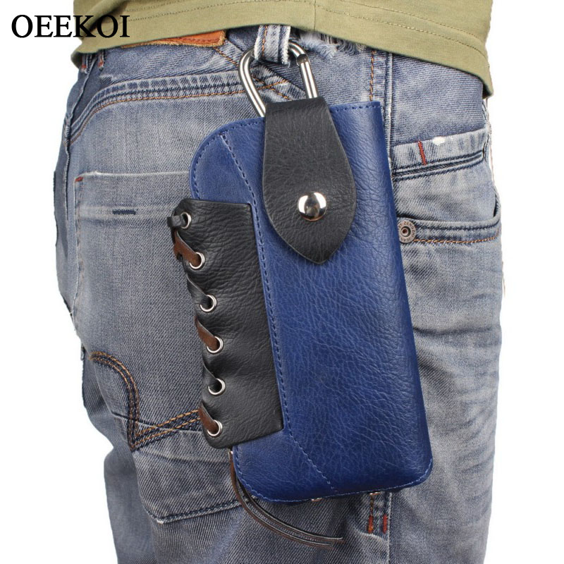 OEEKOI Rhino Pattern Belt Clip Sport Mountaineering Bag Pouch Case for Homtom H10S16S9 PlusHT50HT30S8HT20 ProHT17 Pro