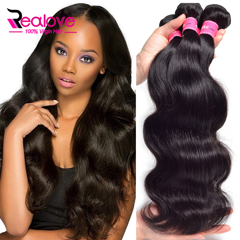 Indian Virgin Hair Body Wave 3pcslot Unprocessed Raw Indian Hair