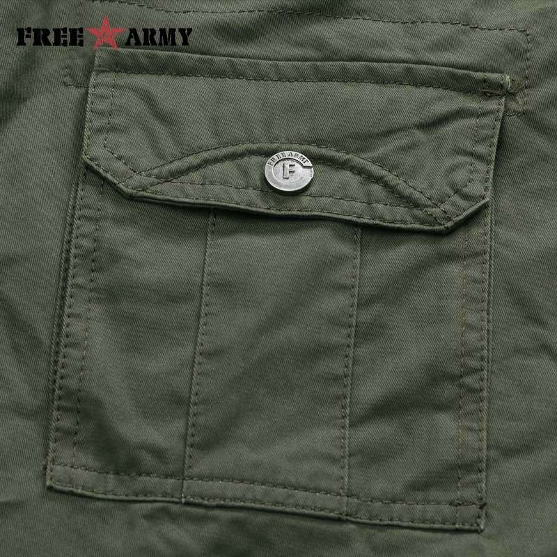 Brand Military Army Green Herrebukser 2018 Nye Bomuldsbukser Casual - Herretøj - Foto 6