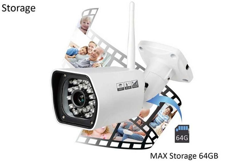 US $99 99 |Wansview NCM750GA 2MP 1080P HD Wifi Outdoor Waterproof Cloud IP  Camera Built in 8GB TFCard-in Surveillance Cameras from Security &