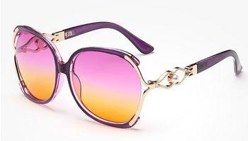2017 New Vintage Pearl Sunglasses Women Oculos De Sol Feminino Fashion Gradient Sunglass Women Brand Designer Sun Glasses 142M 4