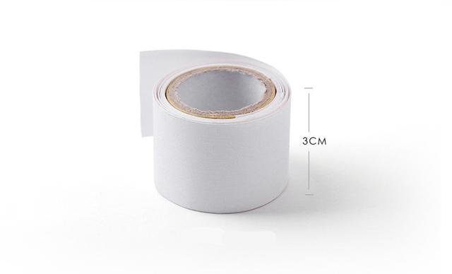 3*100cm Self Fiberglass Adhesive Silk Nail Wrap Reinforce Nail Protector White UV Gel Acrylic Manicure Nail Art Tool
