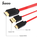 MHL Cable Micro USB to HDMI Adapter For Samsung Galaxy Note i9220 i9100 HDTV Cable for Sony Xperia Z3 Z1 Z2 Compact Tablet