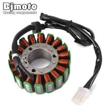 BJMOTO GSX-R 600/750 Motorcycle Magneto Ignition Stator Generator Coil For Suzuki GSXR600 GSX-R600 97-00 GSXR750  GSX-R750 96-99 все цены