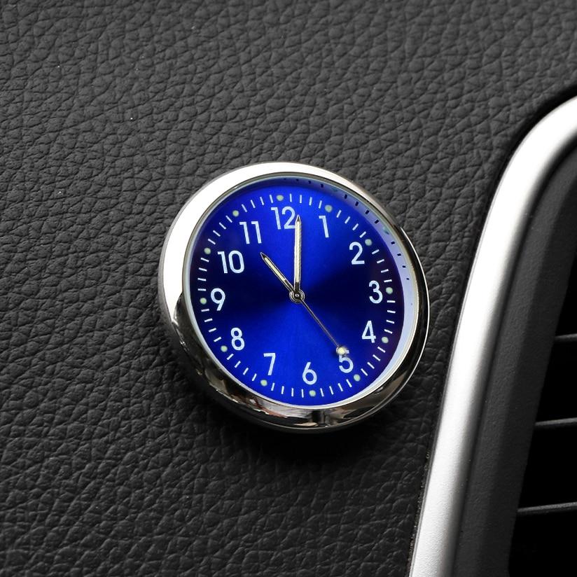 Car Decoration Electronic Meter Car Clock Timepiece Auto Interior Ornament Automobiles Sticker Watch Interior In Car Accessories(China)