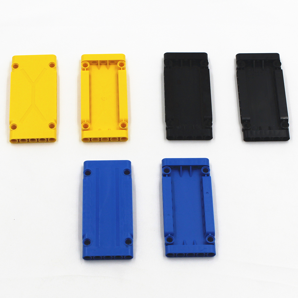Self-Locking Bricks free creation of toys 3 colors MOC Building Blocks 10 pieces Technic Flat Planel 5x5x11 compatible with Lego 120pcs new building blocks self locking bricks after completion of transformation can change shape compatible legoinglys toys