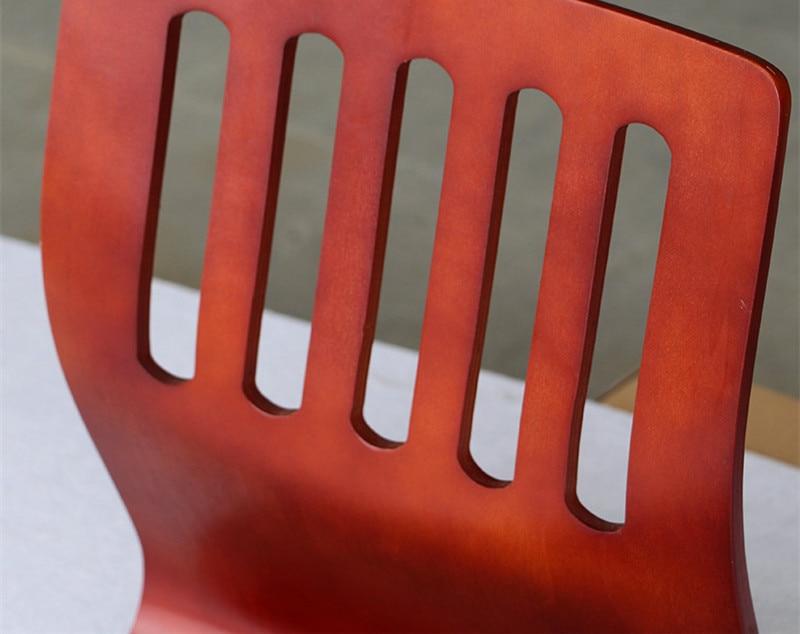 (4 pcs / lot) Lantai Jepang Kursi Mahoni Furniture Ruang Tamu Kursi - Mebel - Foto 2