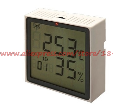 Free Shipping      LCD LM-880 Display, RS485 Bus Type Network Type Import Temperature And Humidity Sensor Acquisition Module