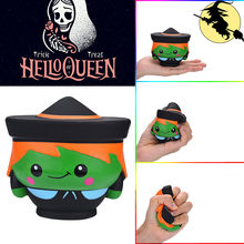 Halloween Witch Doll Scented Squishies Slow Rising Kids Toys Stress Relief Toy smooshy mushy toys for children 2018(China)