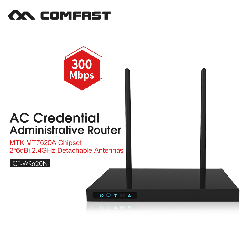 300mbps wireless router wi-fi range extender repetidor wifi-amplifier access point through wall dual 7dbi antenna COMFAST WR620N