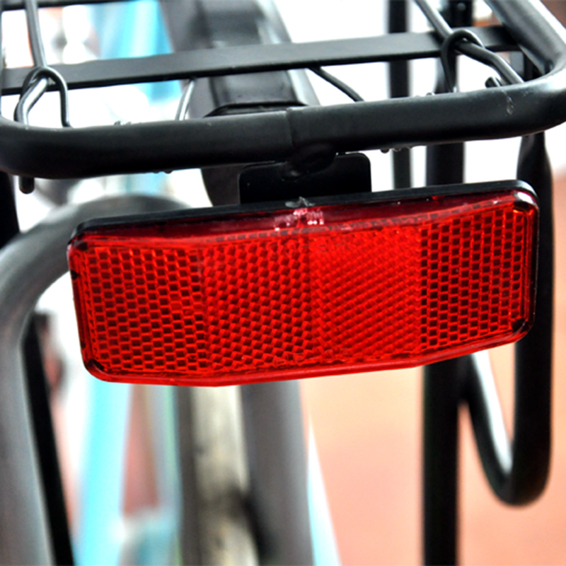 Bicycle Bike Safety Reflector For Rear Pannier Racks