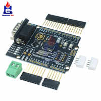MCP2515 CAN Bus Shield Board Module SUB-D Connector Standard UART IIC SPI LED Indicator Controller CAN 4.8-5.2V for Arduino
