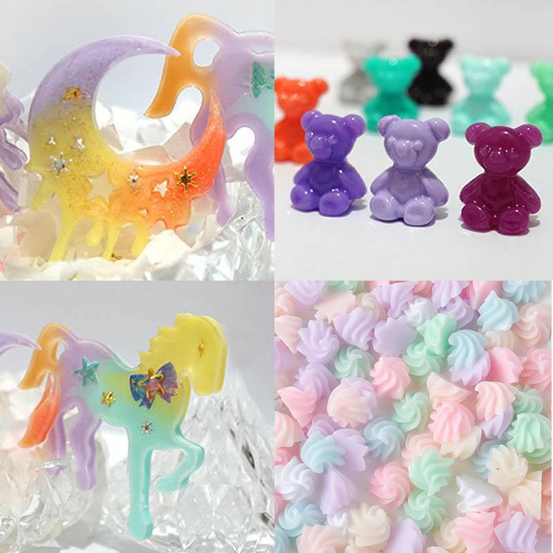 Hot 1 Pcs UV Resin Pigment Macaron Color Dye DIY Jewelry Making Craft HD88