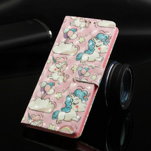 Lucky Unicorn for Samsung Galaxy S7 Edge  Magnetic Wallet Holster Shll Samsung Galaxy S7 S7edge G930f G930fd G935f G935fd Pu Cas все цены