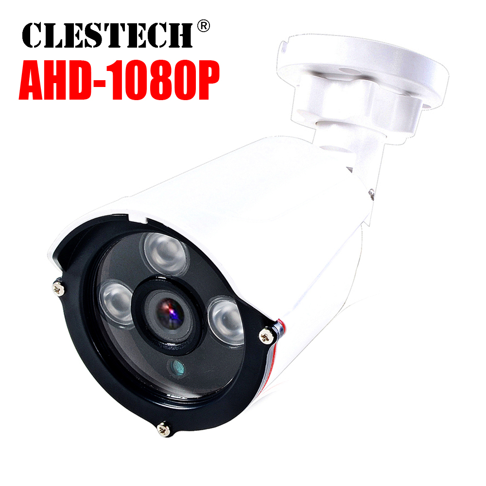 AHD 720/960/1080P 3000TVL AHD CCTV Camera Waterproof IP66 Outdoor 1.0/2.0MP Home Video Security Surveillance System Night Vision