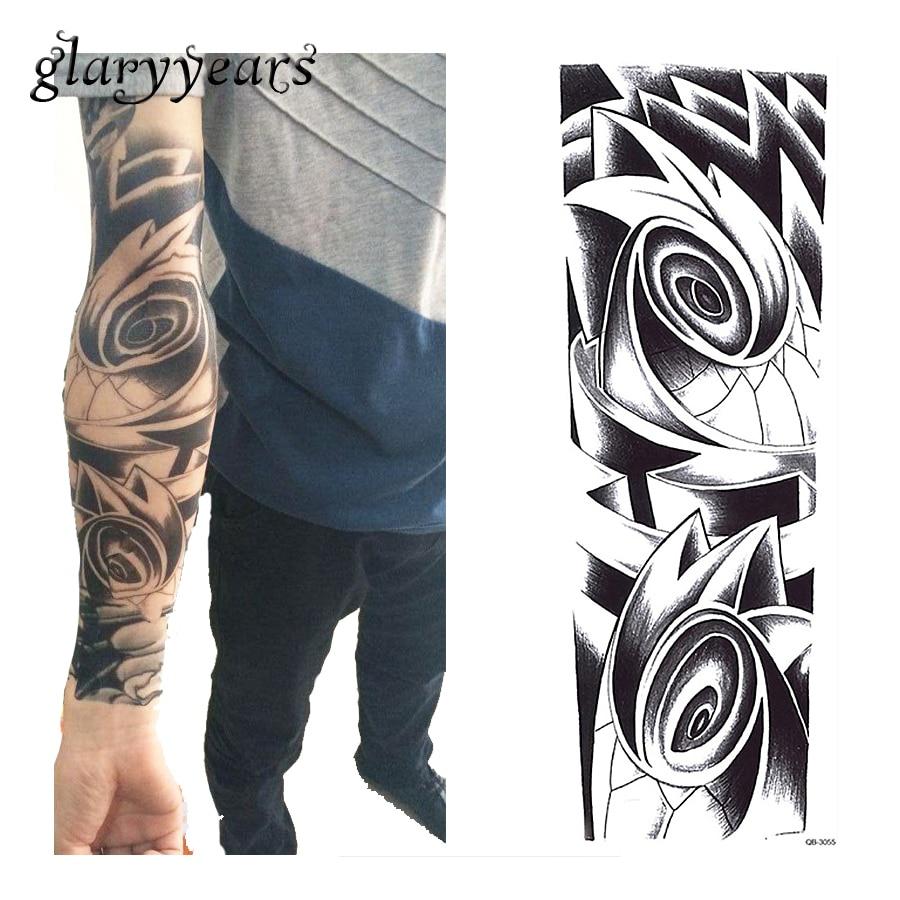 ᐂ1 unidades 3D completo tatuaje etiqueta vortex débil patrón para ...