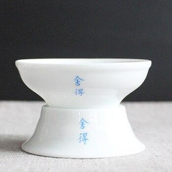 Kung Fu Tee-set Zubehör Keramik Tee Filter Tee-ei Wiederverwendbare Pflanzliche Sieb Lose Kaffee Blatt Spice Filter EIN