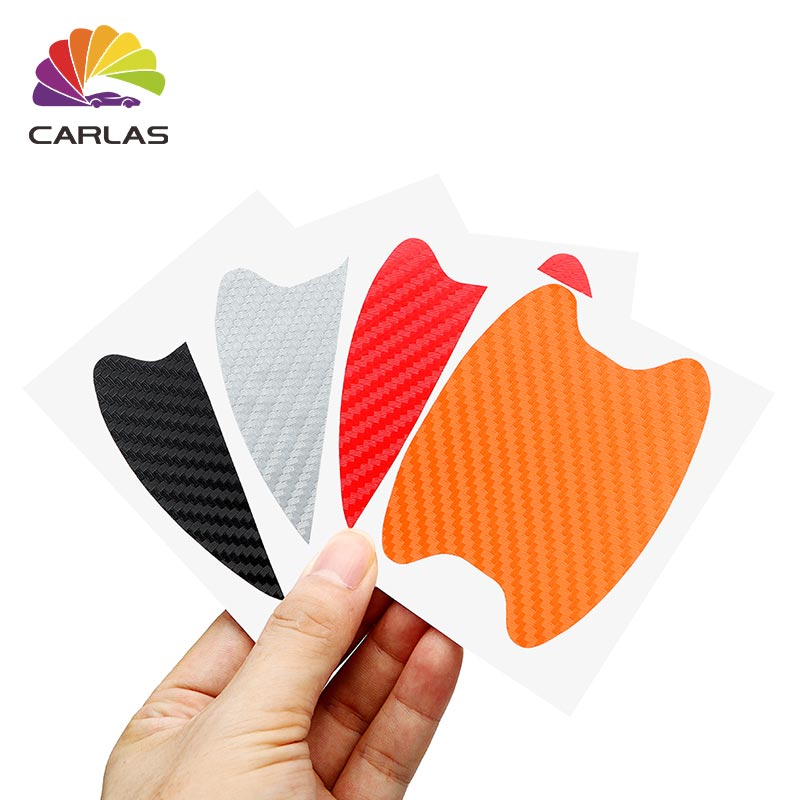 Image 5 - All Free Ship Car Handle Protection Film Universal Invisible Car Carbon Fiber Door Handle Stickers Scratches Resistant Sticker-in Car Stickers from Automobiles & Motorcycles