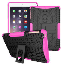 Pill Case For Apple iPad mini 1/2/three case Hybrid Armor Kickstand Onerous Case For ipad mini three Cowl Equipment
