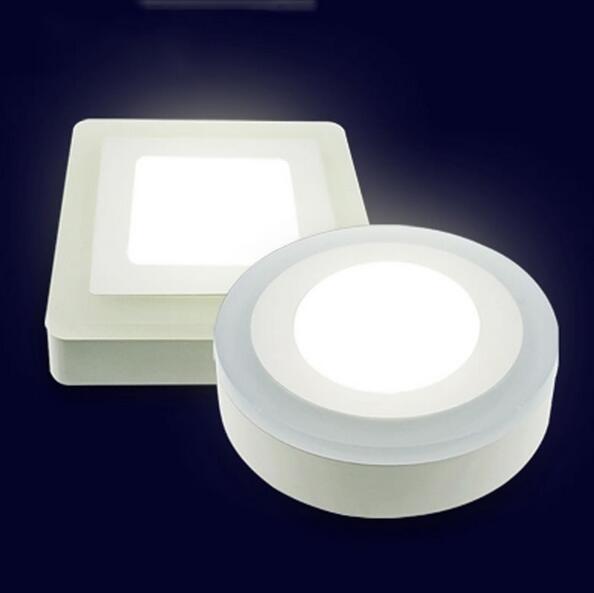 AC 110V 220V 6W 9W 18W 24W 3 Modelo Redondo Cuadrado Panel LED - Iluminación LED - foto 2