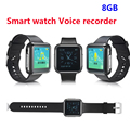 8GB High quality Watch interface voice recorder Digital Sports watch Voice Recorder 8G voice recorder with sport MP3 music play