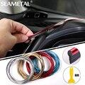 5 M Car Styling Interior decoración moldeado Trim tablero puerta Edge Universal para coches accesorios para automóviles en coche- estilo