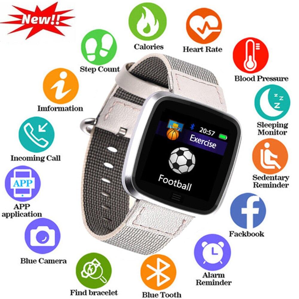 Blood Pressure Monitor Smart Watch Sport Fitness Steel Strap Heart Rate Stopwatch Alarm SmartWatch K88HBlood Pressure Monitor Smart Watch Sport Fitness Steel Strap Heart Rate Stopwatch Alarm SmartWatch K88H