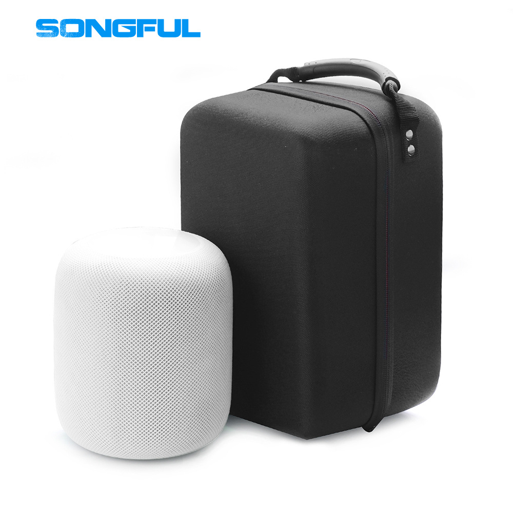 Bluetooth Speaker Case Cover for Apple Homepod 2018 Model Wireless Smart Speakers Storage Sound Box Suitcase Bag Carrying Pouch