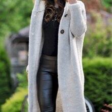Женская одежда, свитер, пальто, весна, осень, зима, кашемировый вязаный длинный кардиган, свитера, пальто, Женское пальто