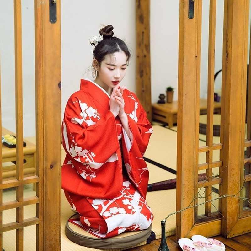 Japanese dress clothing cosplay costume japanese kimono traditional yukuta  geisha costume kimono women 2018 TA474