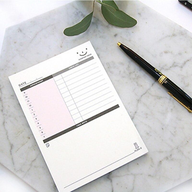 Memorandum Self Adhesive Planner Stickers Weekly Monthly Plan Check List Post It  Memo Pad Office School Supplies