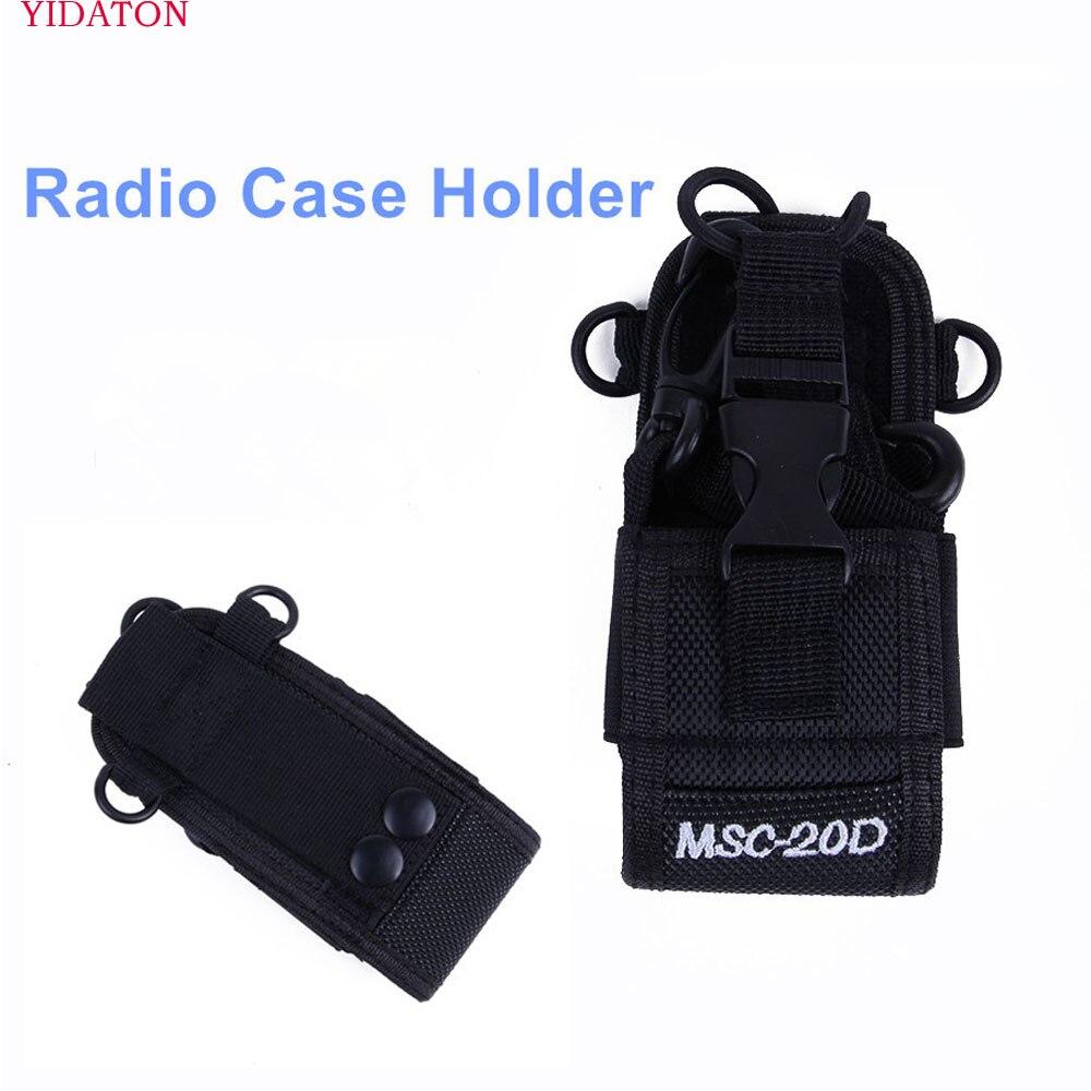 Walkie talkie bag Case Holder MSC-20D Nylon Carry Case For Kenwood BaoFeng UV-5R UV-5RA UV-5RB UV-5RC UV-B5 UV-B6 BF-888S Bag