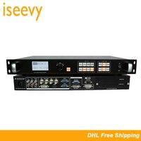 ISEEVY LED Video Processor Support SDI DVI HDMI VGA AV Input for Max 2304x1152@60HZ LED Video Wall Display
