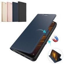 For Xiaomi Pocophone F1 Case Redmi Note 7 Redmi 7A Leather K