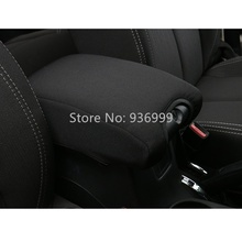 High Quality Fabric Protect Cover of Central Armrest Suitable for Jeep Wrangler JK Car Accessories