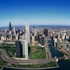 Chicago IL Poster Print (15 x 6)