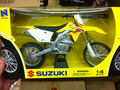 Cross-country motorcycle/bike 1:6 Diecast SUZUKI NewRay