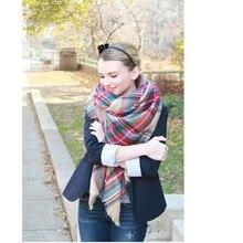 Зима, плед большого размера, дизайн, Одеяло Унисекс, акриловый шарф, кашемировый шарф, шаль, Пашмина, для весны и осени, 140x140 см