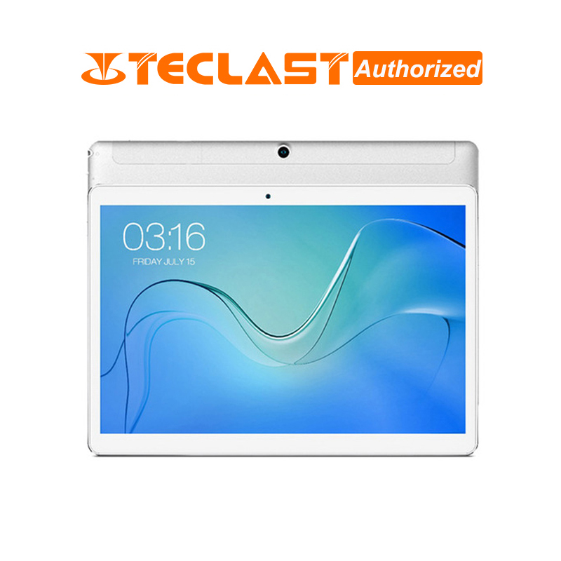 Teclast P10 4G tablette 10.1 pouces 1280*800 PC MTK6737 Quad Core Android 8.1 OS 2GB RAM 16GB ROM GPS LTE tablette