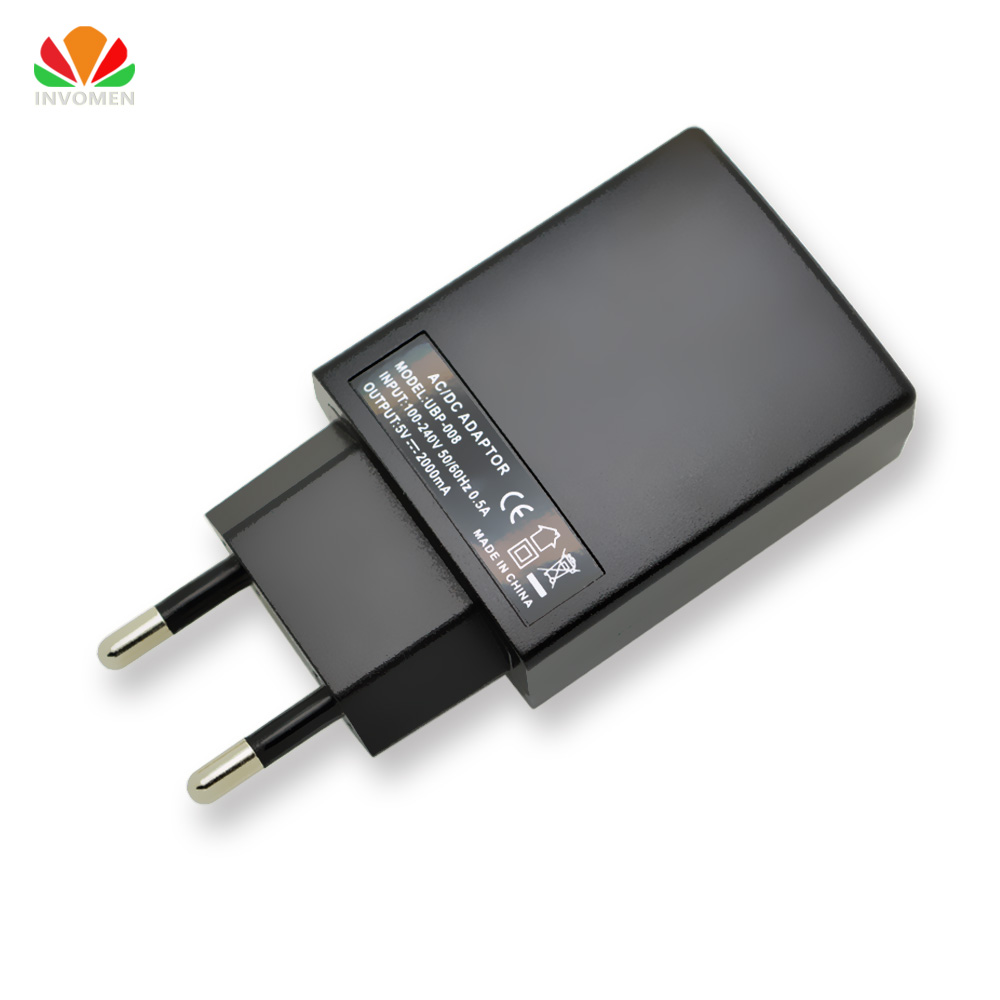 Universal USB-laddare Wall Travel mobiltelefonladdare AC / DC-adapter 2A snabbladdning för iPhone iPad Samsung Tablet PC WIFI