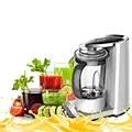 Máquina extractora de jugo de fruta fresca de 300 W, máquina exprimidora de licuadora de vacío, aparato de cocina, pantalla LED de 110 240 V apagado automático