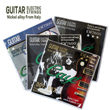 Orphee электрические гитарные струны 0,28-1,27/0,23-1,07/0,23-1,17/0,25-1,17 трубки стеклоткани сплав из Италии, четыре вида могут быть выбраны
