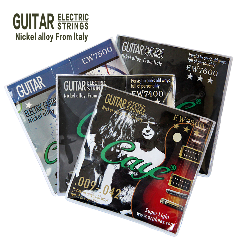 Orphee electric guitar strings 0.28-1.27/0.23-1.07/0.23-1.17/0.25-1.17 Nicel alloy from Italy Four kinds can be selected