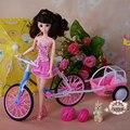 Кукла мебель прокат игровой набор для barbie 12 суставы куклы инструмент трафика детей dream house toys