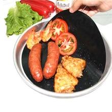 G & T 3pcs / Set BBQ Grill Mat Non-stick Барбекю Жареный лист Многоразовые микроволновые коврики для выпечки для жарки Пикник Кулинария для выпечки