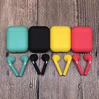 Kolorowe TWS I9s słuchawki TWS 5.0 słuchawki Bluetooth bezprzewodowy zestaw słuchawkowy do iphone'a xs 8 7 dla wszystkich telefonów andriod z opakowanie detaliczne