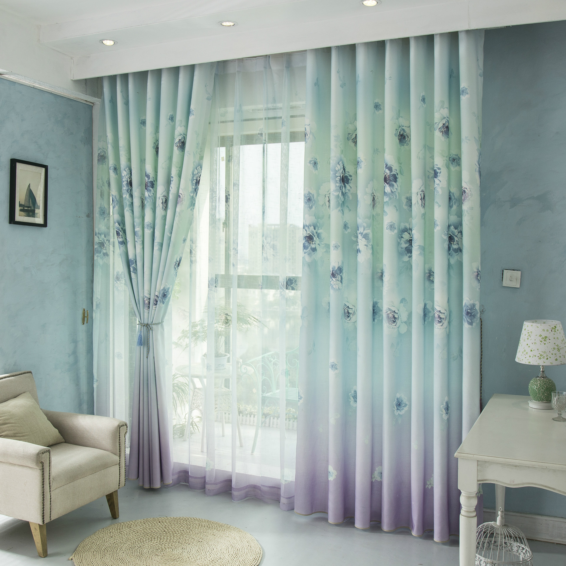 Curtains for bedroom 2016 - Curtains For Living Dining Room Bedroom 2016 New Curtains Cotton Printed Small Fresh Semi Shade Curtains