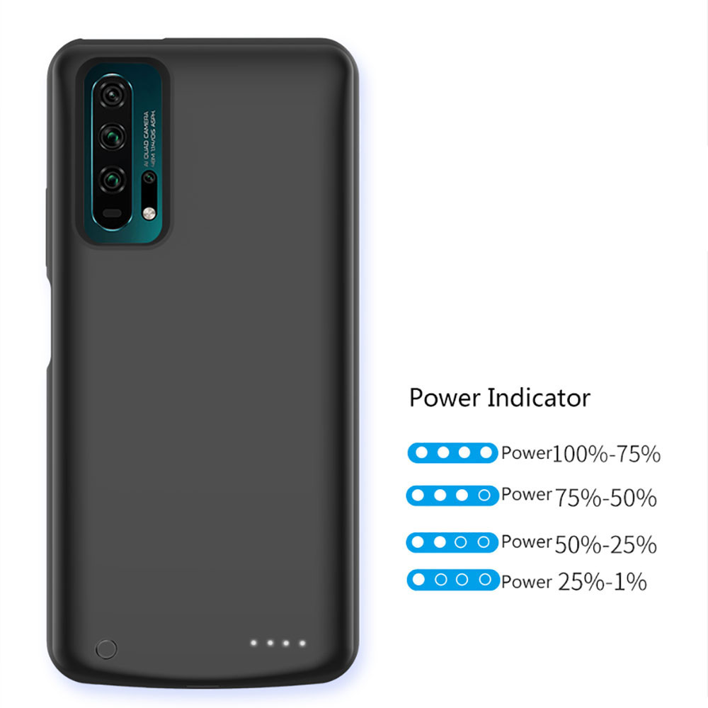 For Huawei Honor 20 20 Pro Battery Charger Case 6500mAh Backup Powerbank Charging Cover For Huawei Honor 20 Pro Battery Case