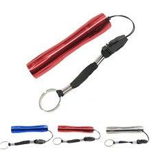 Super 1 W LED Mini Hard Light Small Key Chain Flashlight Torch Medical Outside