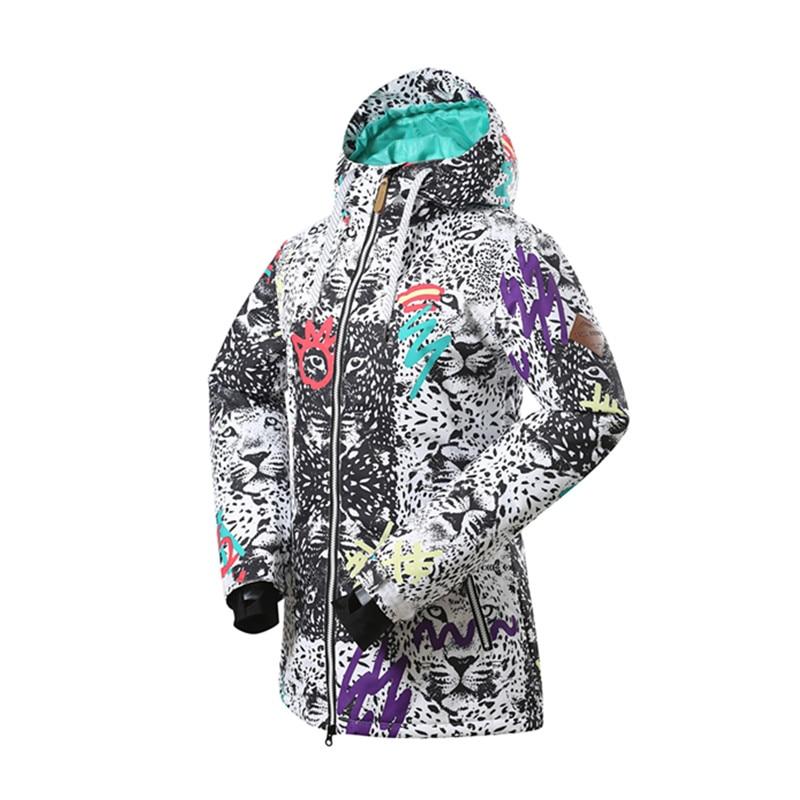 Gsou 2018Ladies ūdensnecaurlaidīgs slēpošanas žakete Sievietēm - Sporta apģērbs un aksesuāri